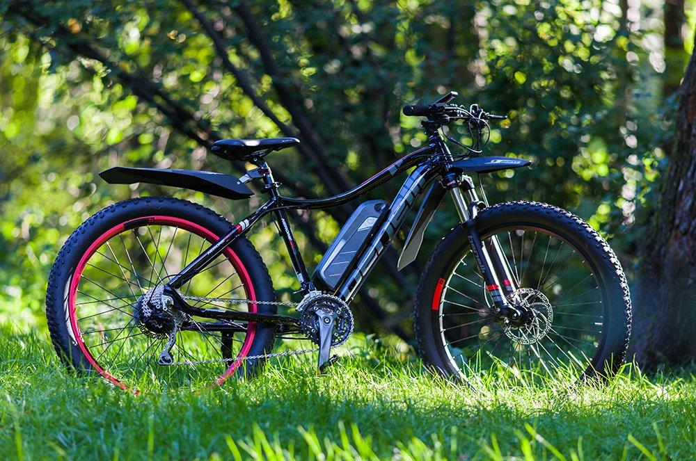 Электрический велосипед картинка
