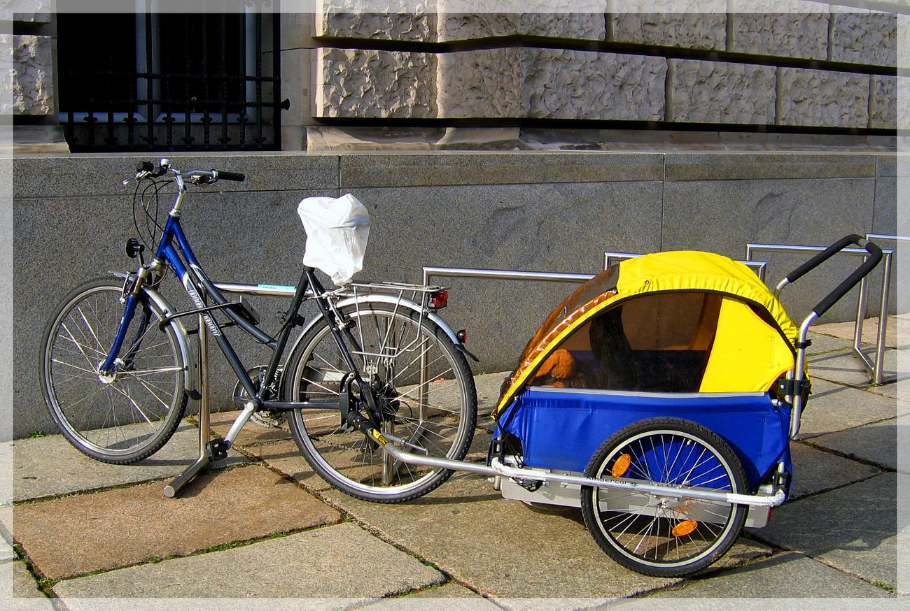 картинка прицепа для велосипеда реклама автосервиса