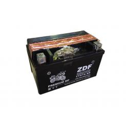 Аккумулятор ZDF Moto Battery 1207 MF YTX7A-BS прямая, электролит