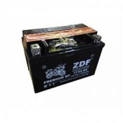 Аккумулятор ZDF Moto Battery 1209 MF YTX9-BS прямая, электролит