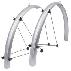 "Крылья велосипедные AUTHOR MUDGUARDS AXP-14 Slr 28""х37 мм, металлопластиковые"