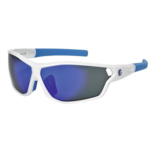 Очки Scott Leap Full Frame white mat/blue blue chr. Артикул: 31-14-235513-WB